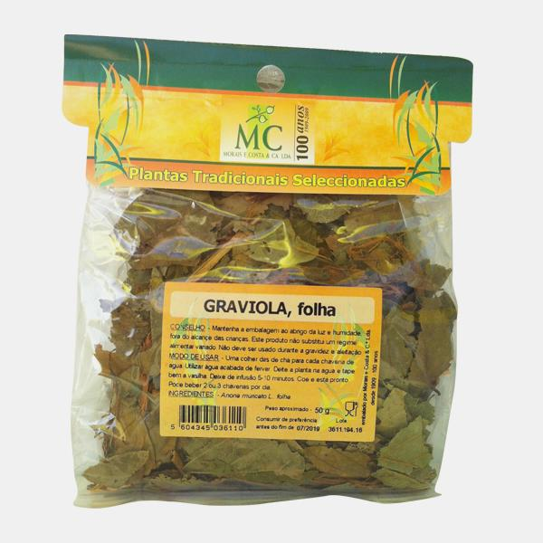 Graviola 50g Planta chá