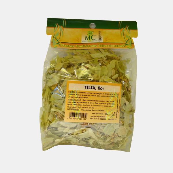 Tília 50g Planta chá