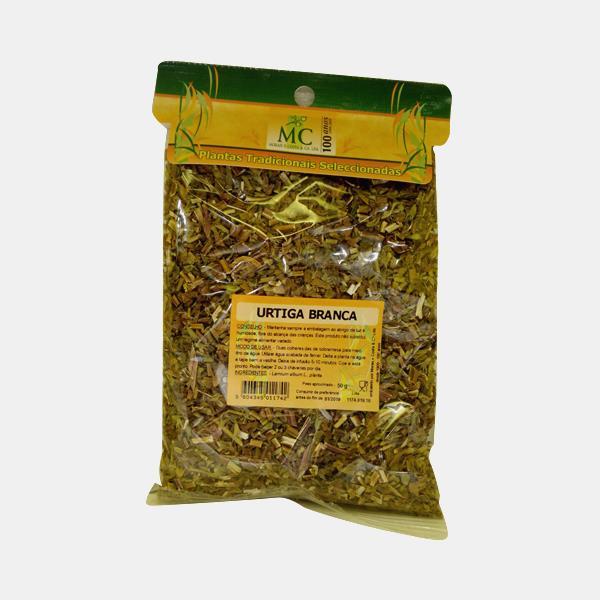 Urtiga Branca 50g Planta chá