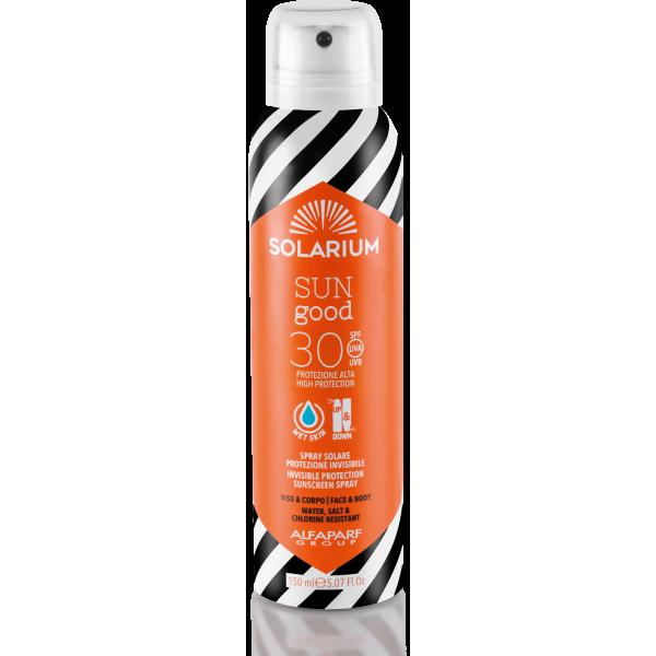 Protetor Solar Spray em Creme  SPF30 150ml Solarium