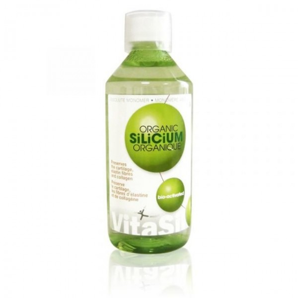 Silício Orgânico Bio-Ativado 500 ml Vitasil