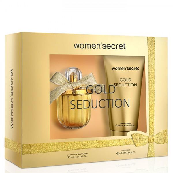 Eau Gold Seduction Coffret (EDP 100ml + BL 200ml) Women'Secret
