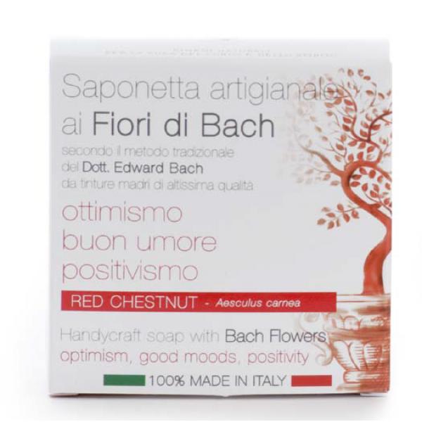 Sabonete Corpo de Flor de Castanheiro Vermelho 100g Fiori di Bach