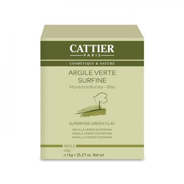 Argila Verde Superfina 1kg Cattier