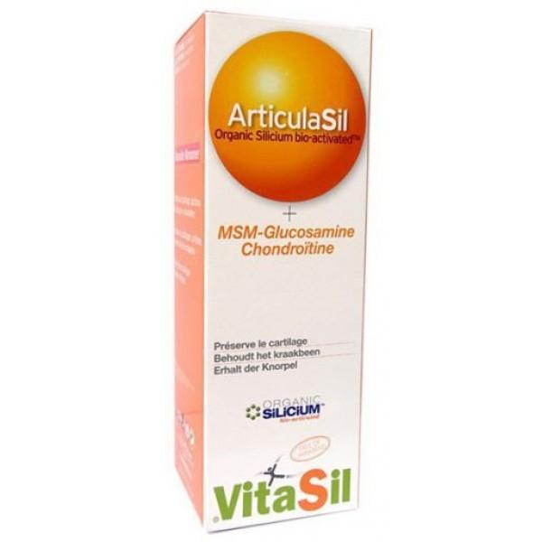 Articulasil + MSM + Glucosamina + Condroitina 225ml VitaSil