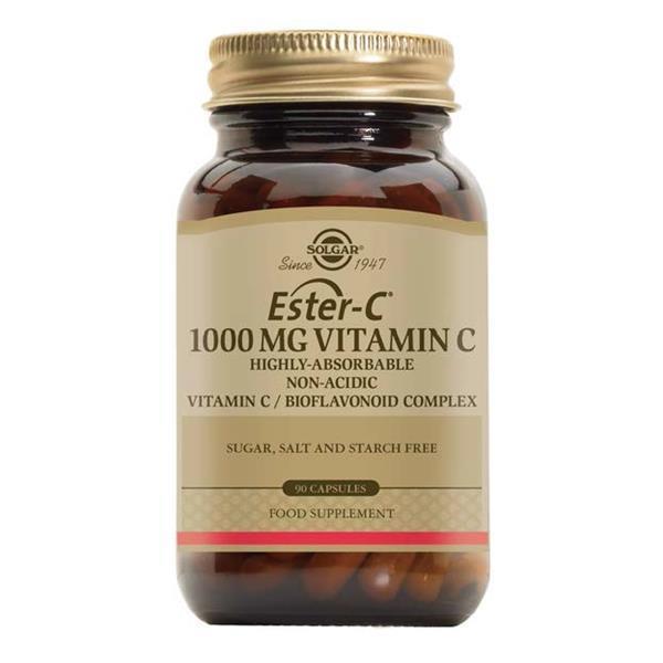 Ester-C 1000mg Vitamin C Solgar 90 cápsulas Solgar
