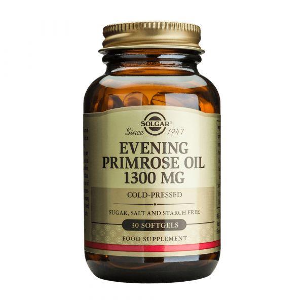 Evening Primrose Oil 1300mg 30 cápsulas Solgar