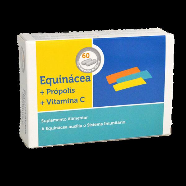 Equinácea + Propólis + Vitamina C 60 cápsulas