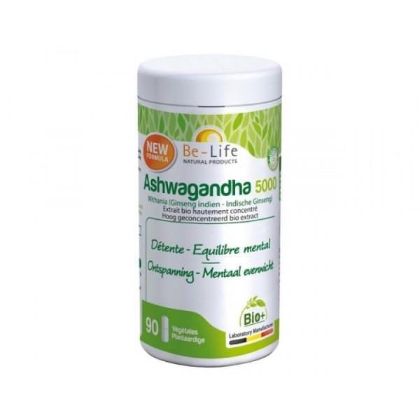 Ashwagandha 5000 90 cápsulas Be-Life
