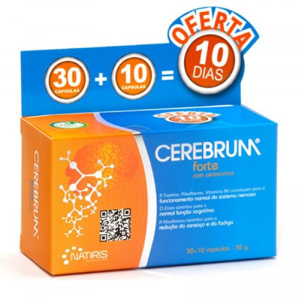 Cerebrum Forte Pack 30 + 10 cápsulas