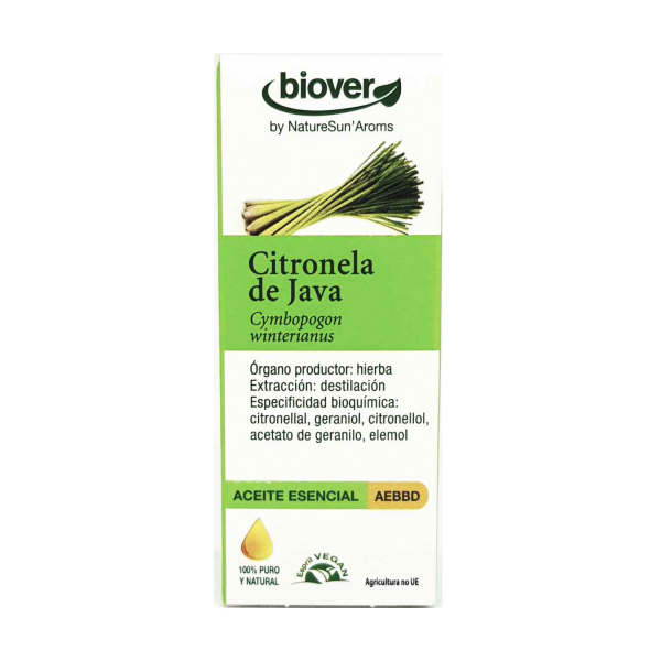Óleo Essencial de Citronela de Java 10ml Biover