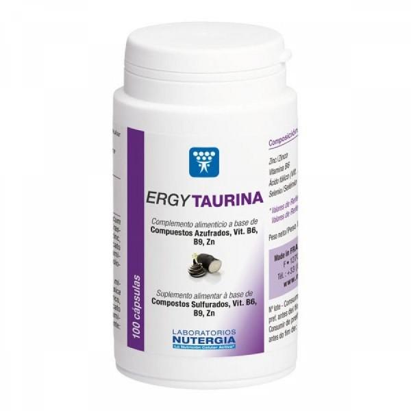 ErgyTaurina 100 cápsulas Laboratórios Nutérgia