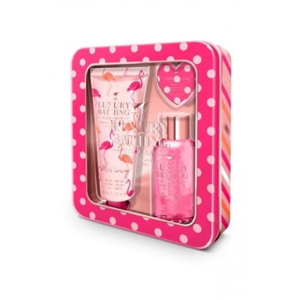 Creme de Corpo c/ Gel e Bomba de Banho Orange Blossom & Neroli Gift Set The Luxury Bathing Company