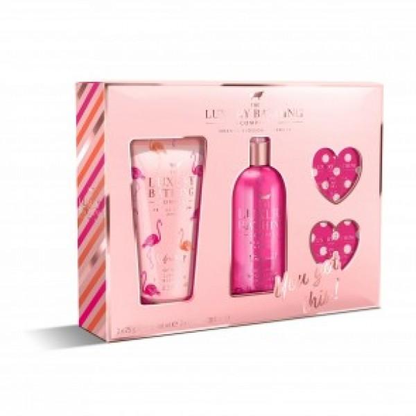 Gel e Bombas de Banho c/ Spray Corporal Orange Blossom & Neroli Set The Luxury Bathing Company