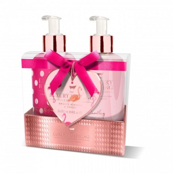 Creme e Sabonete Líquido de Mãos Orange Blossom & Neroli Gift Set The Luxury Bathing Company