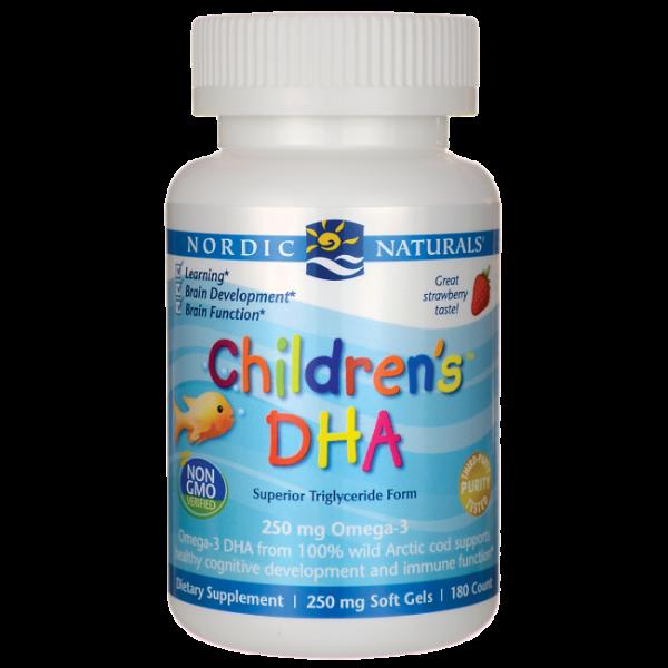 Children's DHA 90 mini cápsulas Nordic Naturals