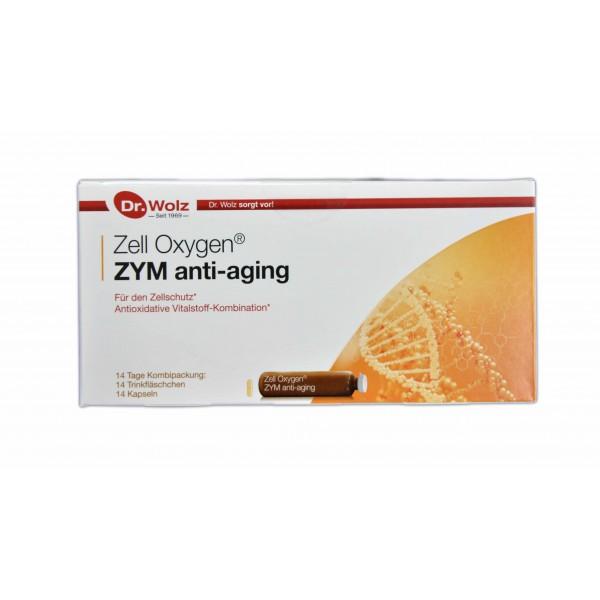 Zell Oxygen Zym Anti-Aging 14 ampolas + 14 cápsulas Dr. Wolz