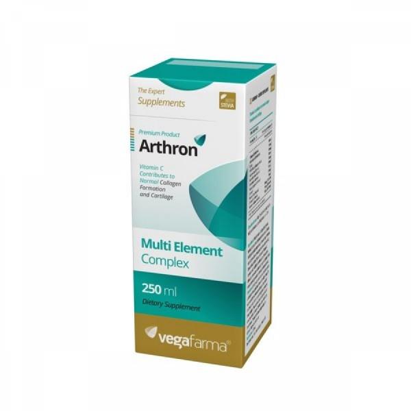 Arthron com Stevia 250ml Vegafarma