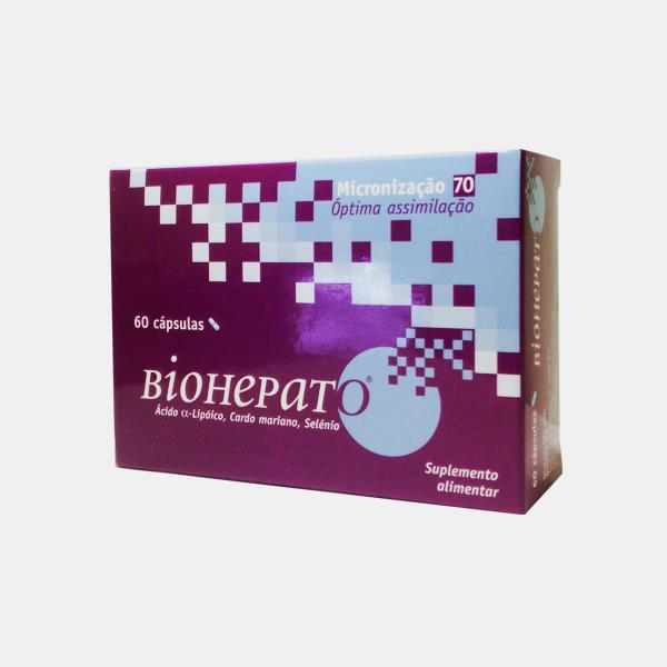 Biohepato 60 cápsulas Bioaxo