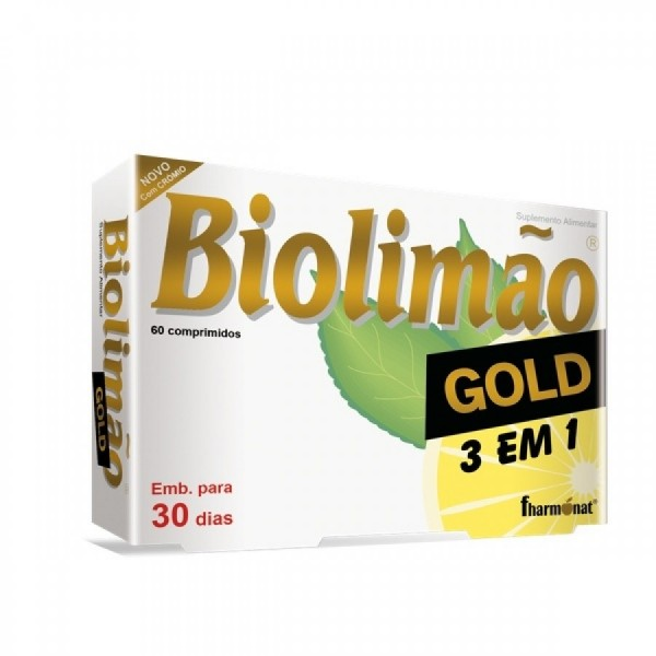 Biolimão Gold 3 em 60 comprimidos Gold