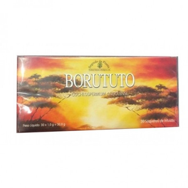 Borututu 30 saquetas Planta chá