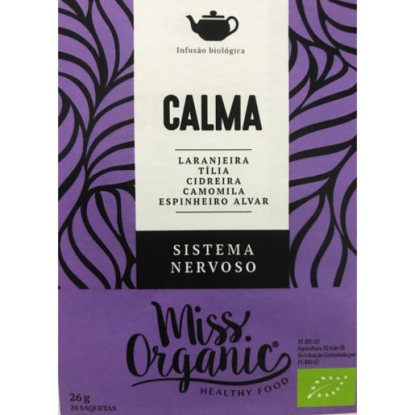 Infusão Calma 20 saquetas Miss Organic