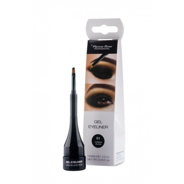 Eyeliner em Gel Carbon Black 25ml Pierre René