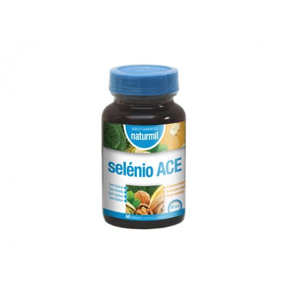 Selénio Ace 60 cápsulas Naturmil