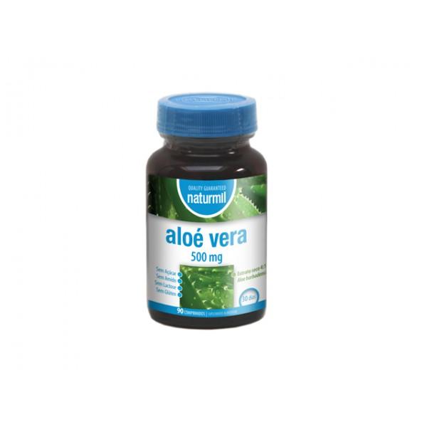 Aloé Vera 500mg 90 comprimidos Naturmil