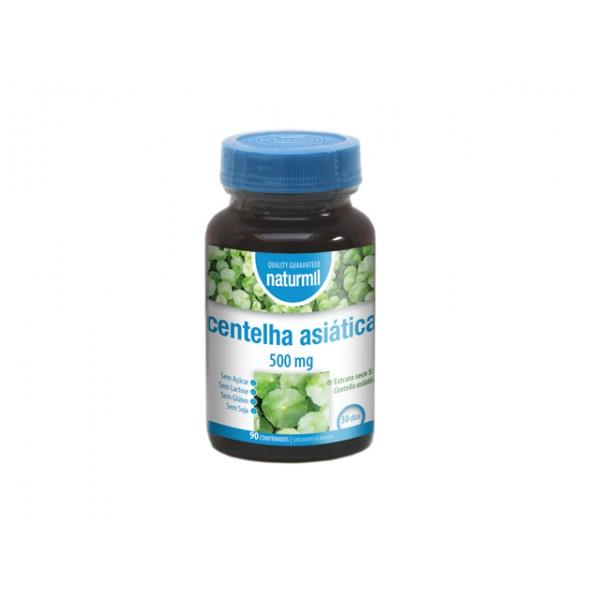 Centelha Asiática 500mg 90 comprimidos Naturmil
