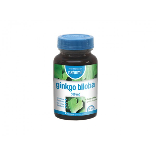 Ginkgo Biloba 500mg 90 comprimidos Naturmil