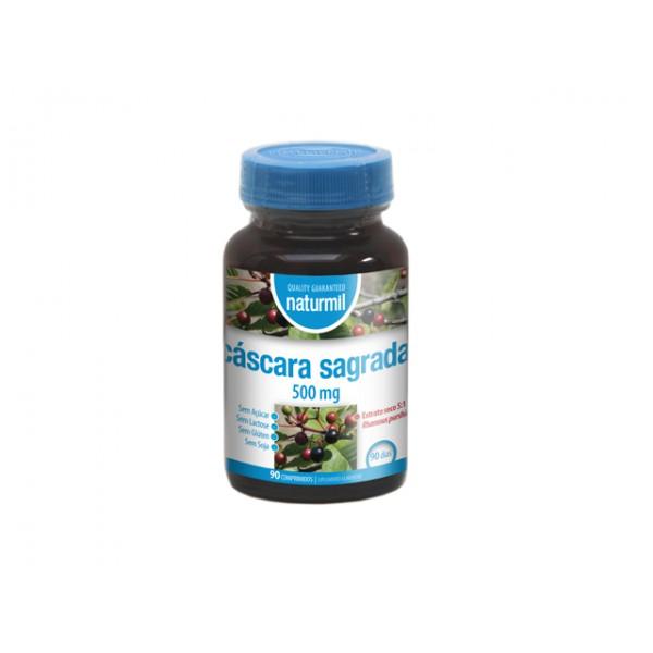 Cáscara Sagrada 500mg 90 comprimidos Naturmil
