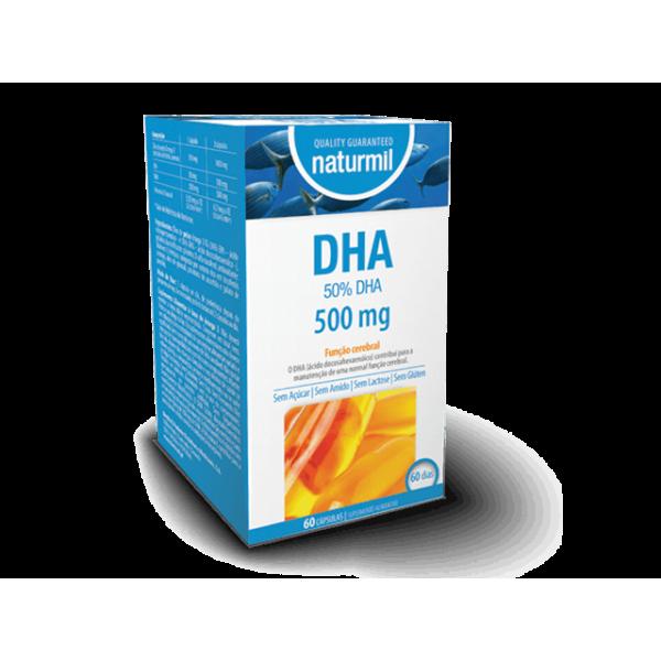 DHA 500mg 60 cápsulas Naturmil