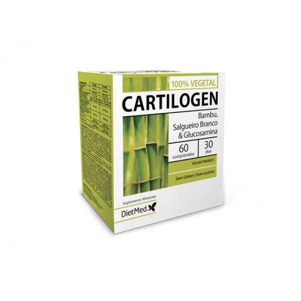 Cartilogen 100% Vegetal 60 comprimidos Dietmed®