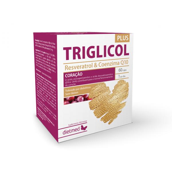 Triglicol Plus 60 cápsulas Dietmed®