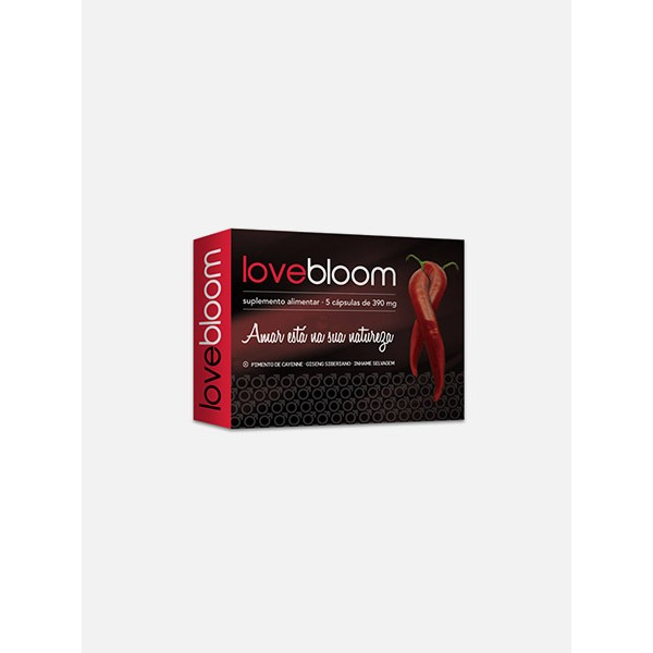 LoveBloom 5 cápsulas