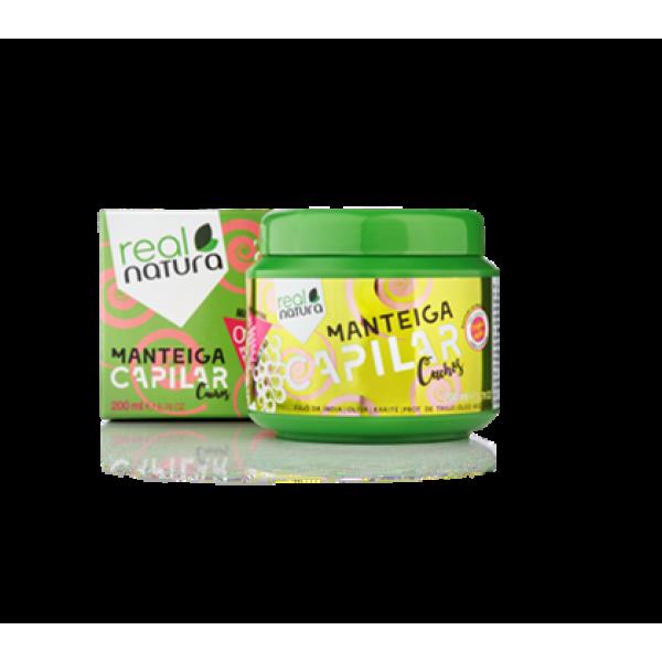 Manteiga Capilar 200ml Real Natura