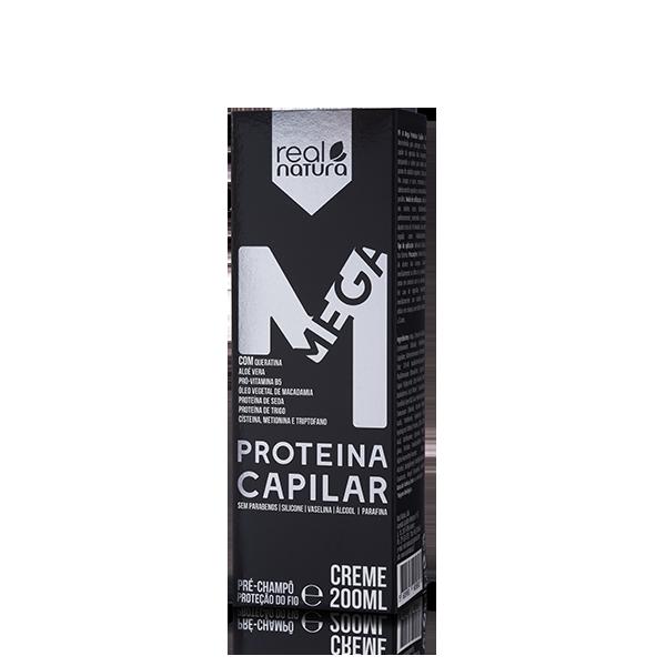 Creme Mega Proteína Capilar 200ml Intensivo