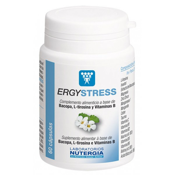 ErgyStress 60 cápsulas Laboratórios Nutérgia