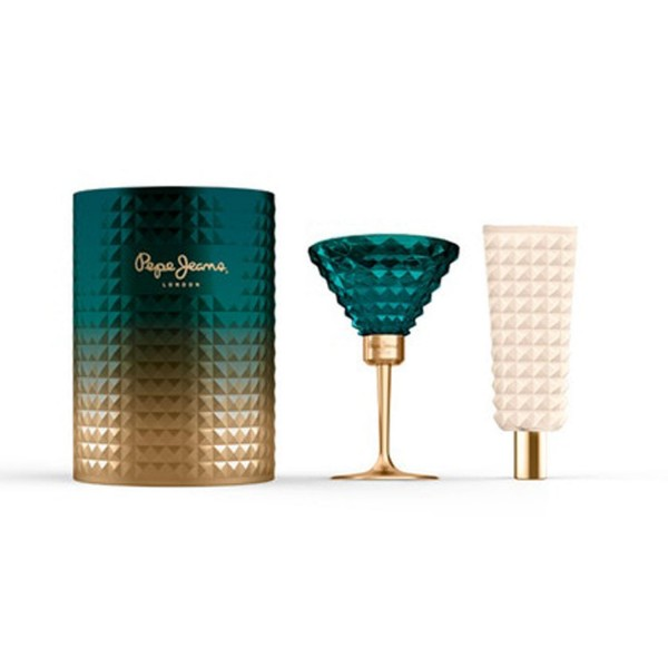 Pepe Jeans Celebrate for Her Coffret (EDT 80ml + BL 80ml) Pepe Jeans