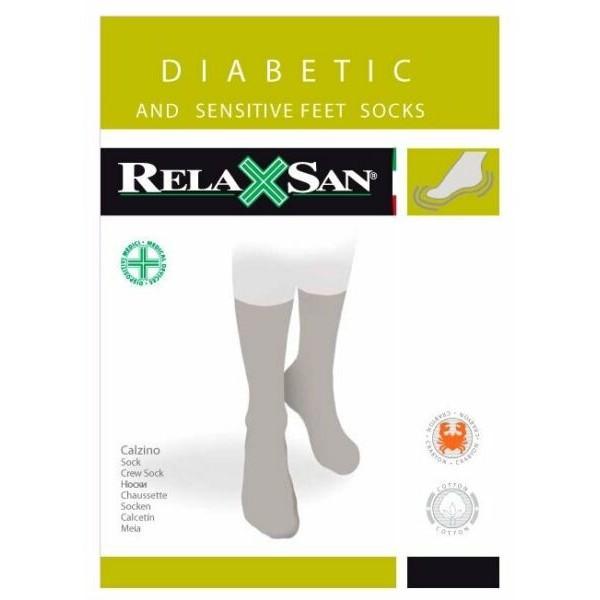 Meias p/ Pés Diabéticos ou Sensíveis Ref. 560 Relaxsan