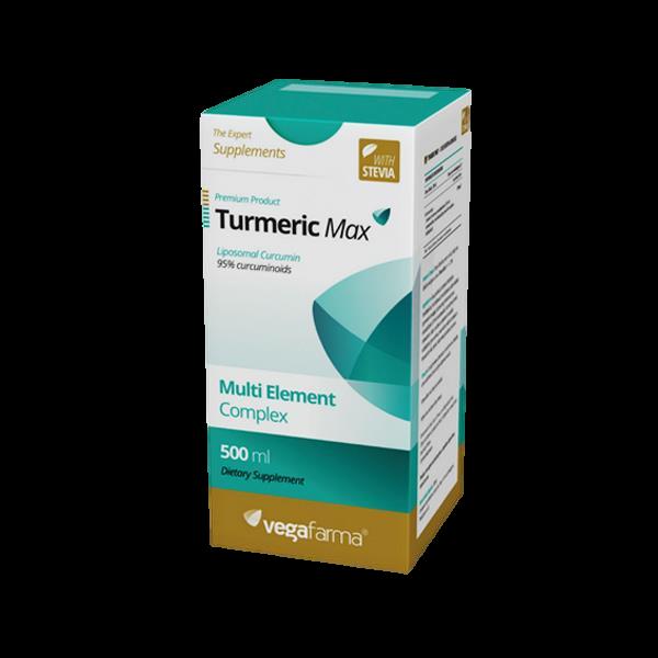 Turmeric Max 500ml Vegafarma